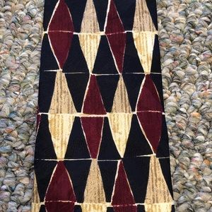 Structure Silk Patterned Tie